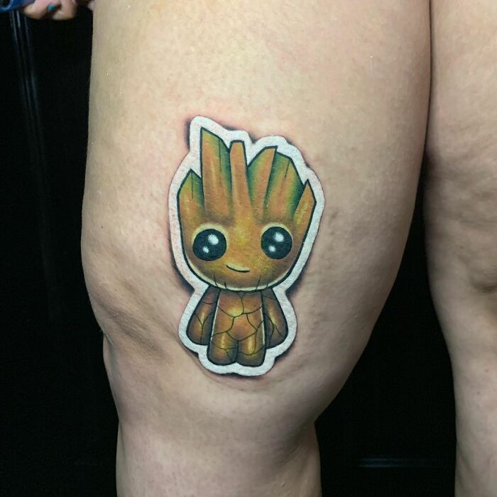 Tatuador cria tatuagens em adesivos que parecem reais (54 fotos) 45