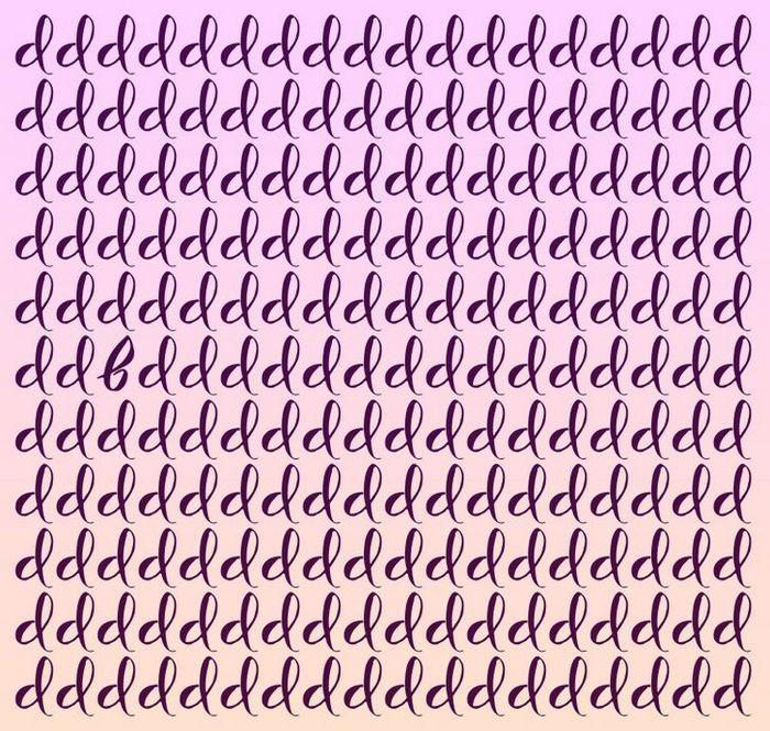 Teste: Encontre a letra diferente em menos de 5 segundos 2