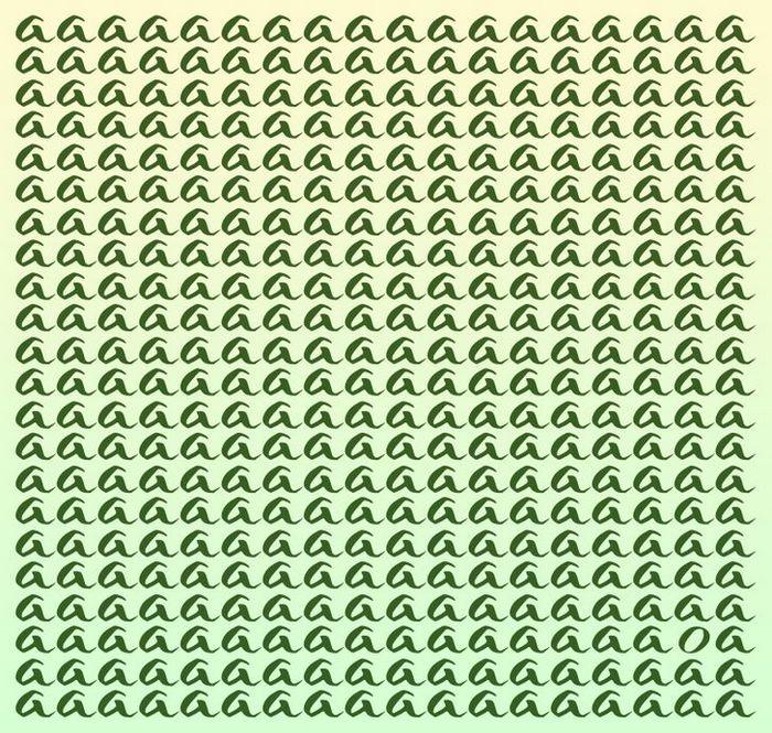 Teste: Encontre a letra diferente em menos de 5 segundos 4