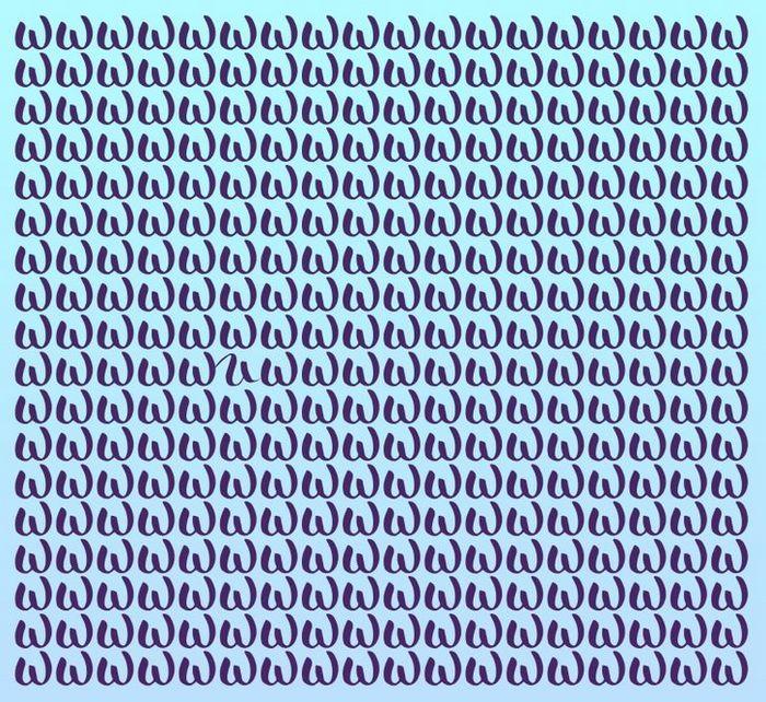 Teste: Encontre a letra diferente em menos de 5 segundos 26