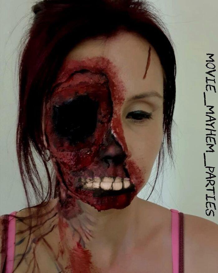 44 transformações com maquiagem: Ilusões de ótica 4