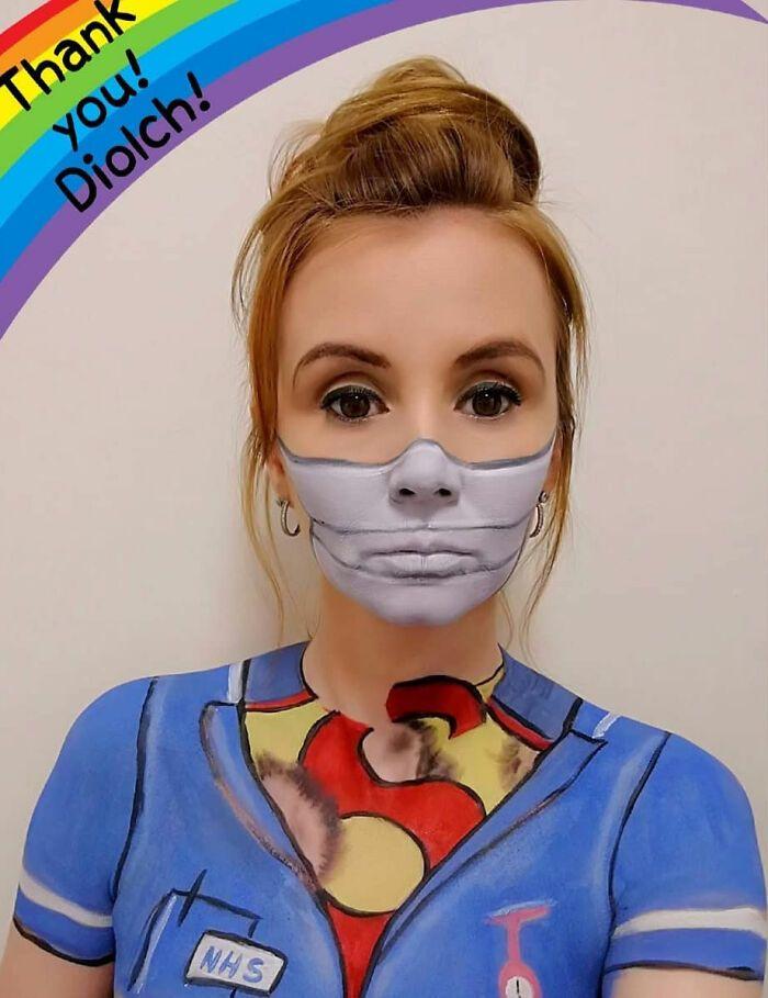 44 transformações com maquiagem: Ilusões de ótica 11