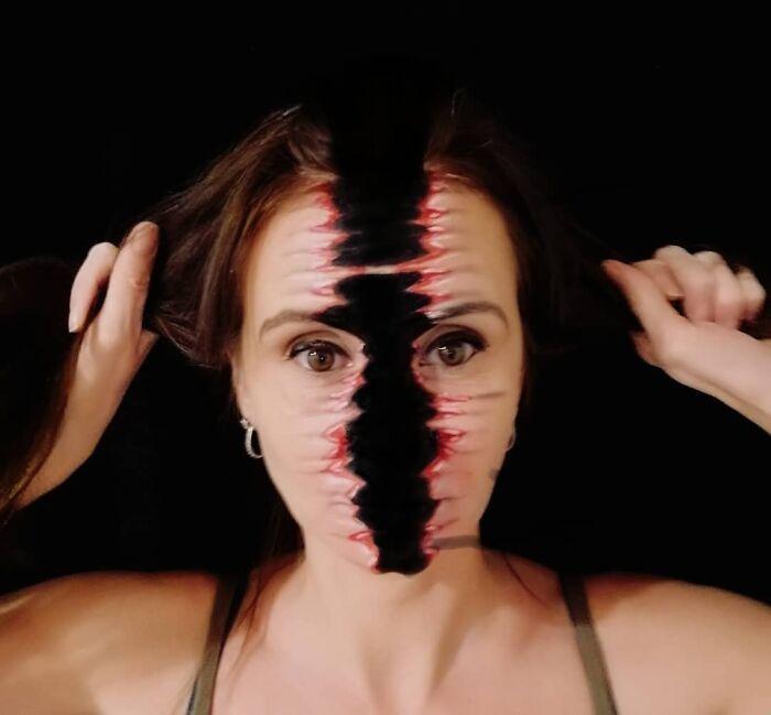 44 transformações com maquiagem: Ilusões de ótica 15