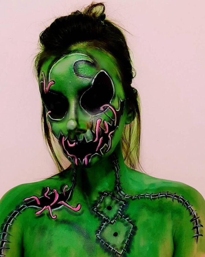 44 transformações com maquiagem: Ilusões de ótica 16