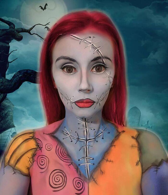 44 transformações com maquiagem: Ilusões de ótica 22