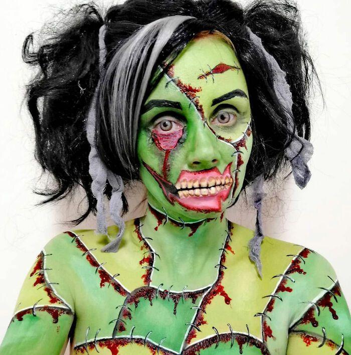 44 transformações com maquiagem: Ilusões de ótica 23
