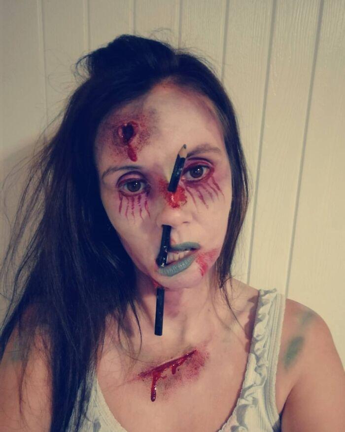 44 transformações com maquiagem: Ilusões de ótica 29