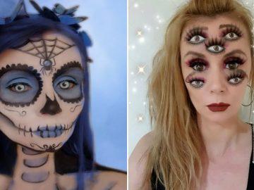 44 transformações com maquiagem: Ilusões de ótica 88