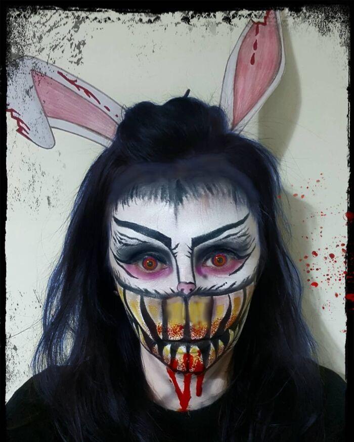 44 transformações com maquiagem: Ilusões de ótica 39