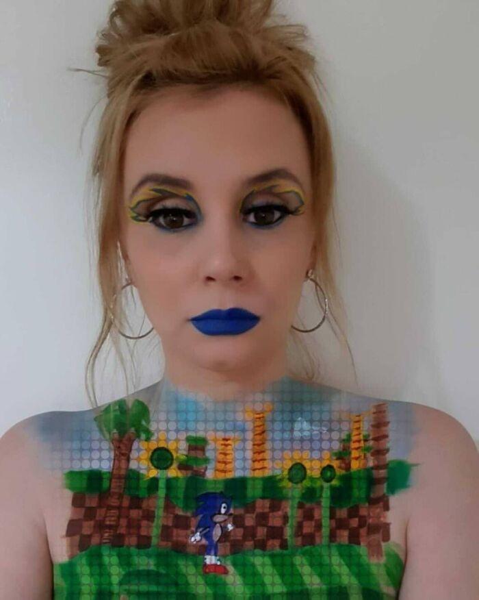 44 transformações com maquiagem: Ilusões de ótica 40
