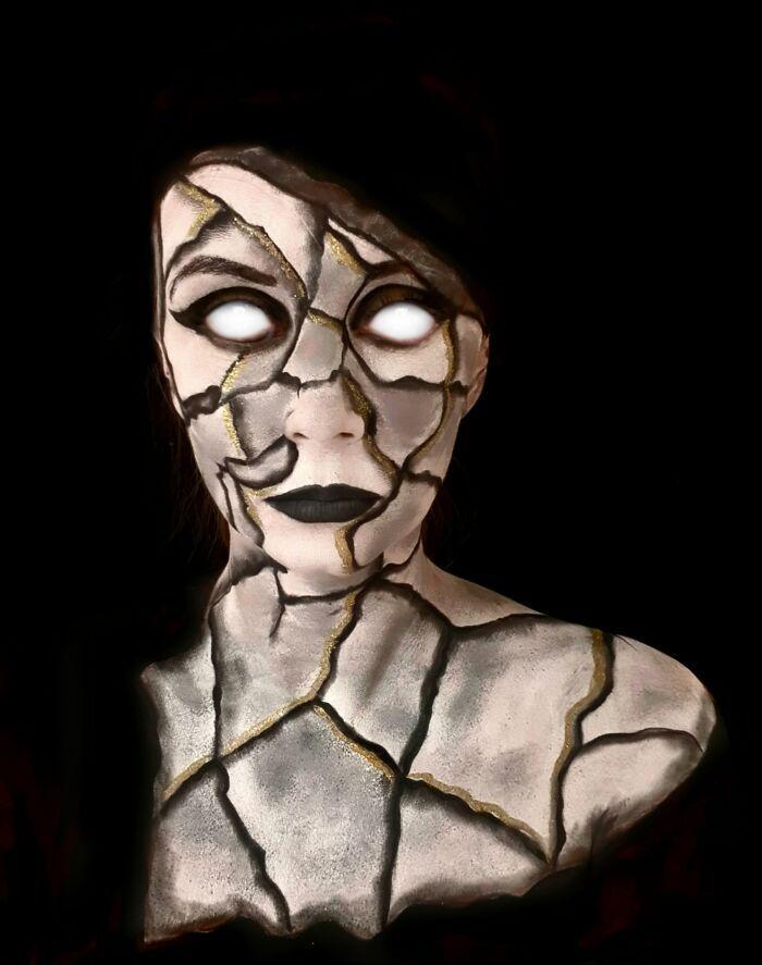 44 transformações com maquiagem: Ilusões de ótica 45