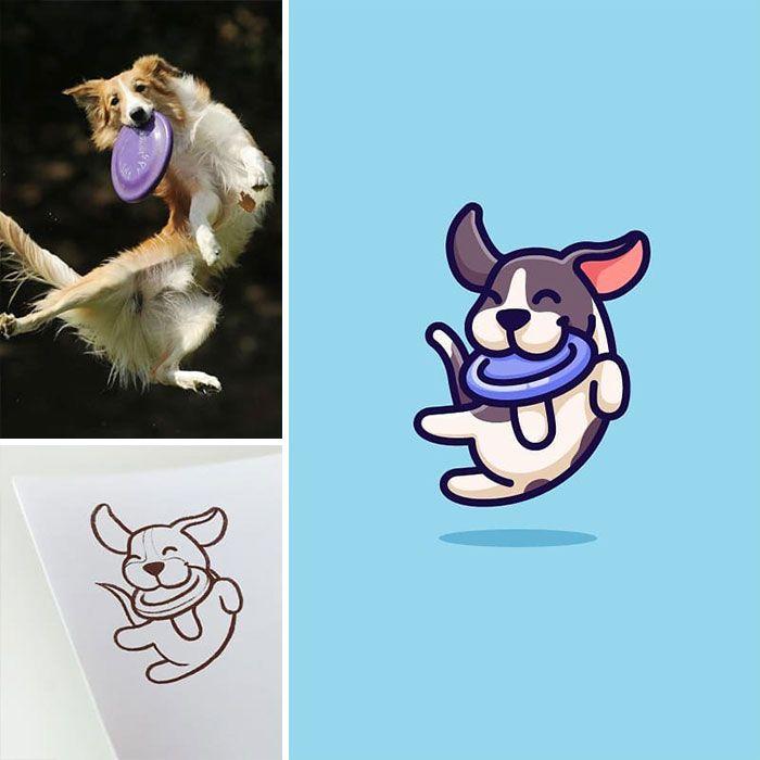 Artista cria adoráveis ilustrações inspiradas em coisas aleatórias (40 fotos) 4