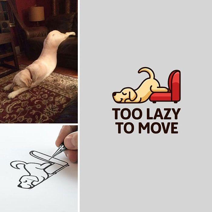 Artista cria adoráveis ilustrações inspiradas em coisas aleatórias (40 fotos) 10