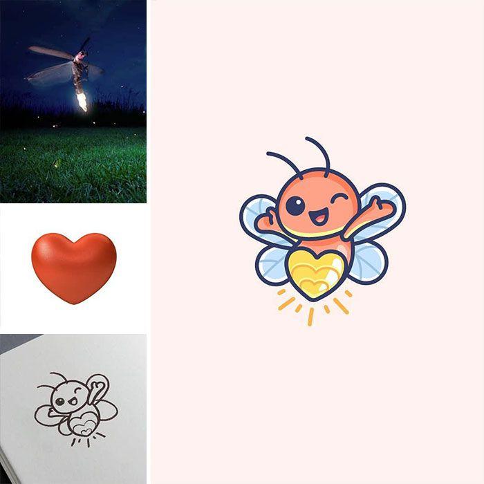 Artista cria adoráveis ilustrações inspiradas em coisas aleatórias (40 fotos) 34
