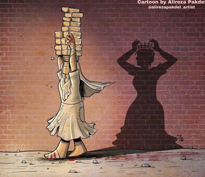 Artista faz duras críticas a sociedade moderna com ilustrações instigantes (40 fotos) 29