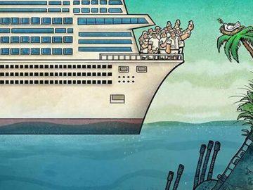 Artista faz duras críticas a sociedade moderna com ilustrações instigantes (40 fotos) 27