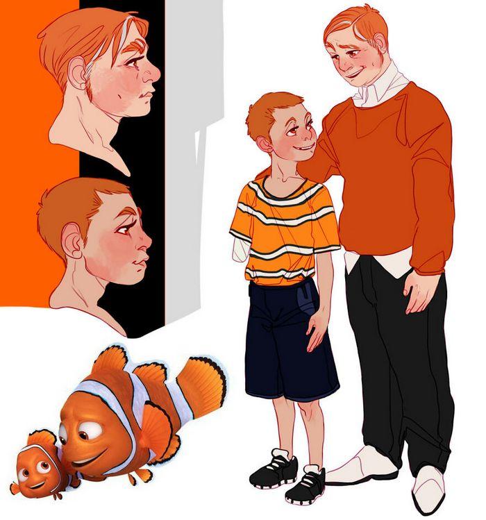 Artista transforma personagens de desenho animado em humanos (36 fotos) 11