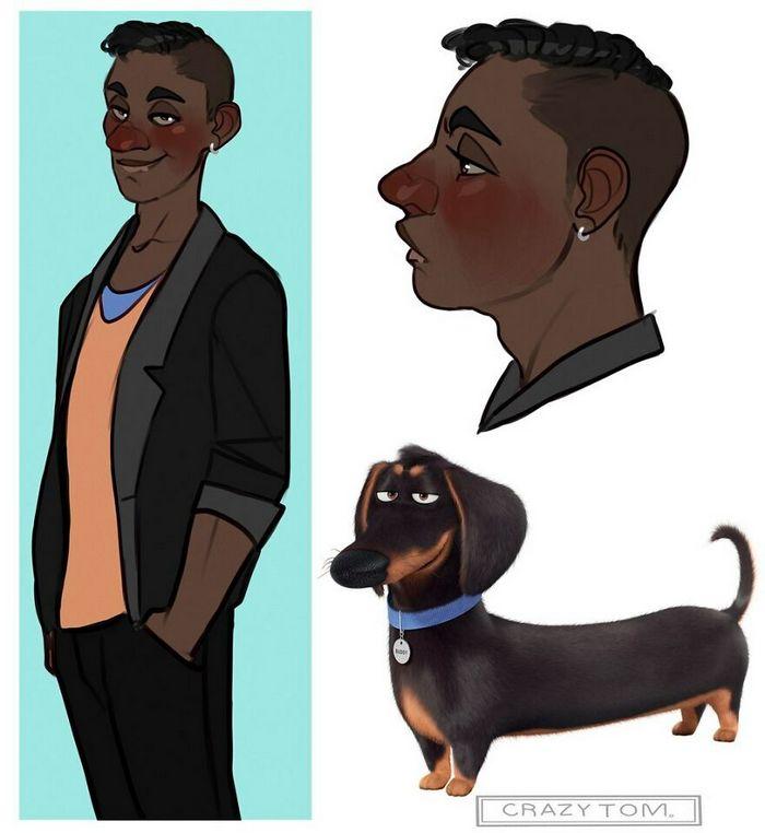 Artista transforma personagens de desenho animado em humanos (36 fotos) 19