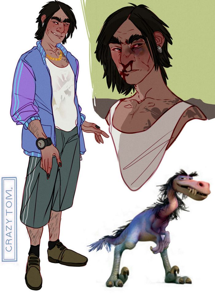 Artista transforma personagens de desenho animado em humanos (36 fotos) 33
