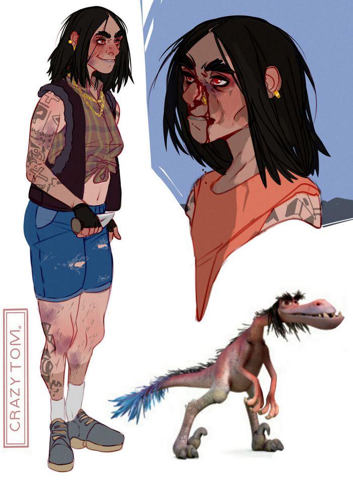 Artista transforma personagens de desenho animado em humanos (36 fotos) 34