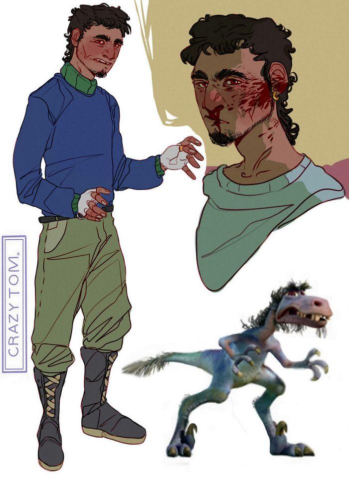 Artista transforma personagens de desenho animado em humanos (36 fotos) 35