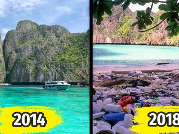 Atrações turísticas que deixaram de existir porque foram destruídas por humanos 27