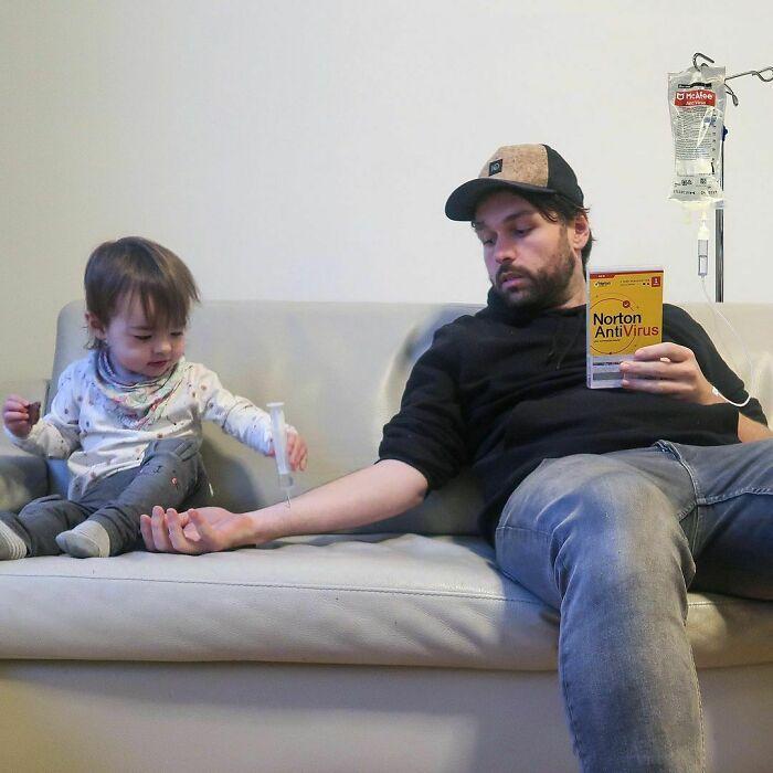 Comecei a enviar essas fotos para minha namorada sempre que ela perguntava se o bebê estava bem (42 fotos) 17