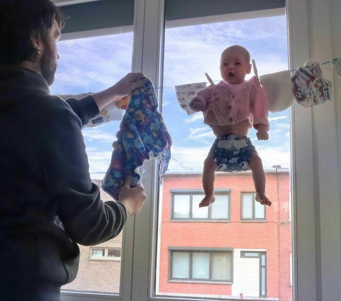 Comecei a enviar essas fotos para minha namorada sempre que ela perguntava se o bebê estava bem (42 fotos) 31
