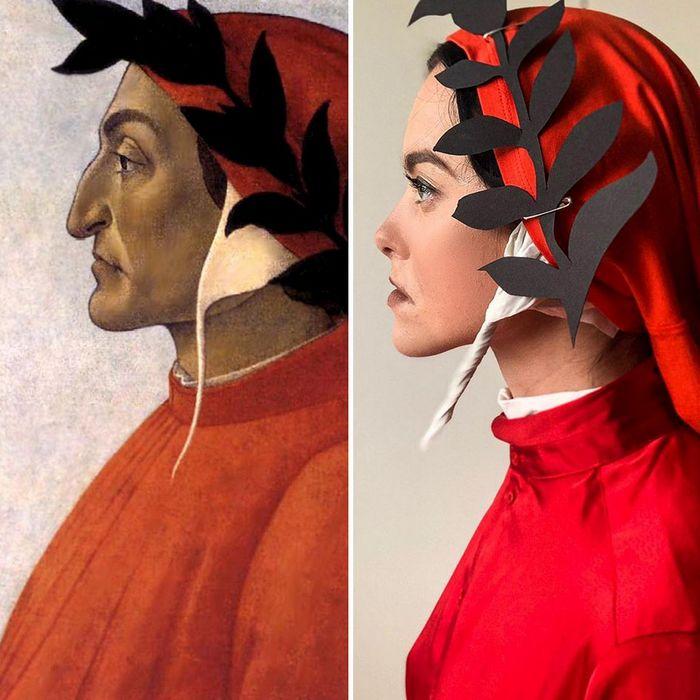 Crítica de arte recria 42 pinturas e figuras famosas da cultura pop em seus cosplays 8