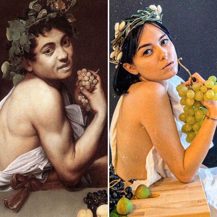 Crítica de arte recria 42 pinturas e figuras famosas da cultura pop em seus cosplays 13