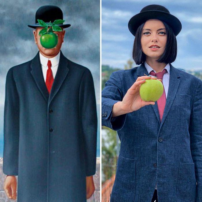 Crítica de arte recria 42 pinturas e figuras famosas da cultura pop em seus cosplays 18