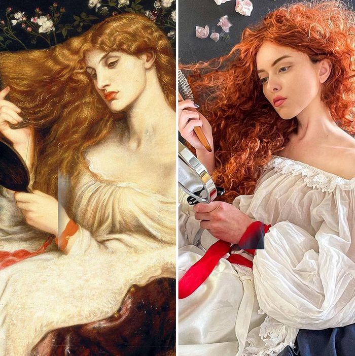 Crítica de arte recria 42 pinturas e figuras famosas da cultura pop em seus cosplays 33