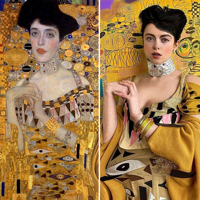 Crítica de arte recria 42 pinturas e figuras famosas da cultura pop em seus cosplays 38