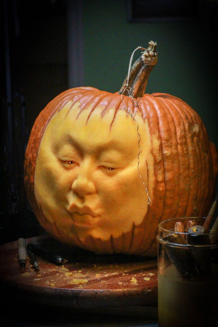 38 esculturas de frutas e vegetais inspiradas na cultura pop, terror, fantasia 2