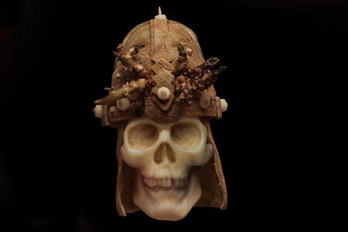 38 esculturas de frutas e vegetais inspiradas na cultura pop, terror, fantasia 3