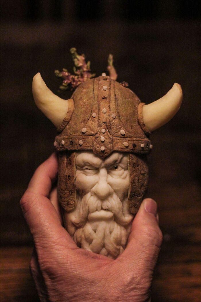 38 esculturas de frutas e vegetais inspiradas na cultura pop, terror, fantasia 4