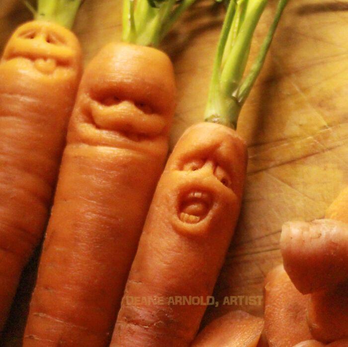 38 esculturas de frutas e vegetais inspiradas na cultura pop, terror, fantasia 11