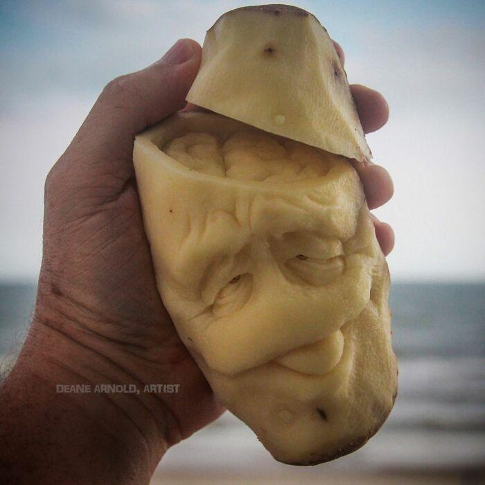 38 esculturas de frutas e vegetais inspiradas na cultura pop, terror, fantasia 13