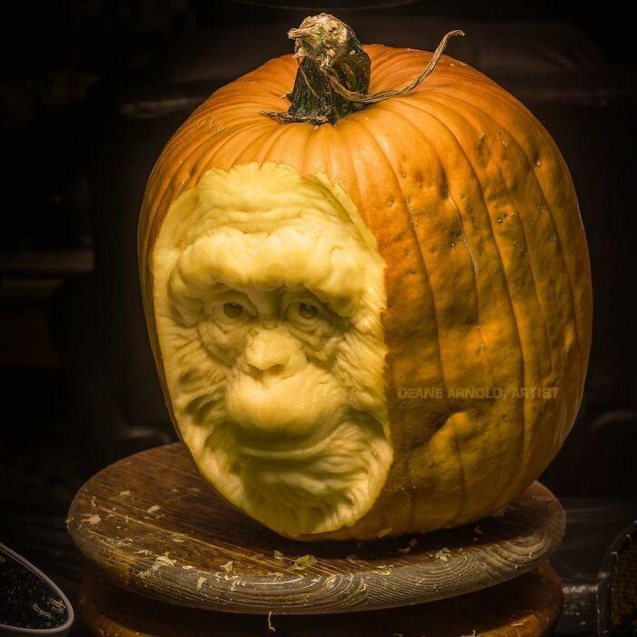 38 esculturas de frutas e vegetais inspiradas na cultura pop, terror, fantasia 16