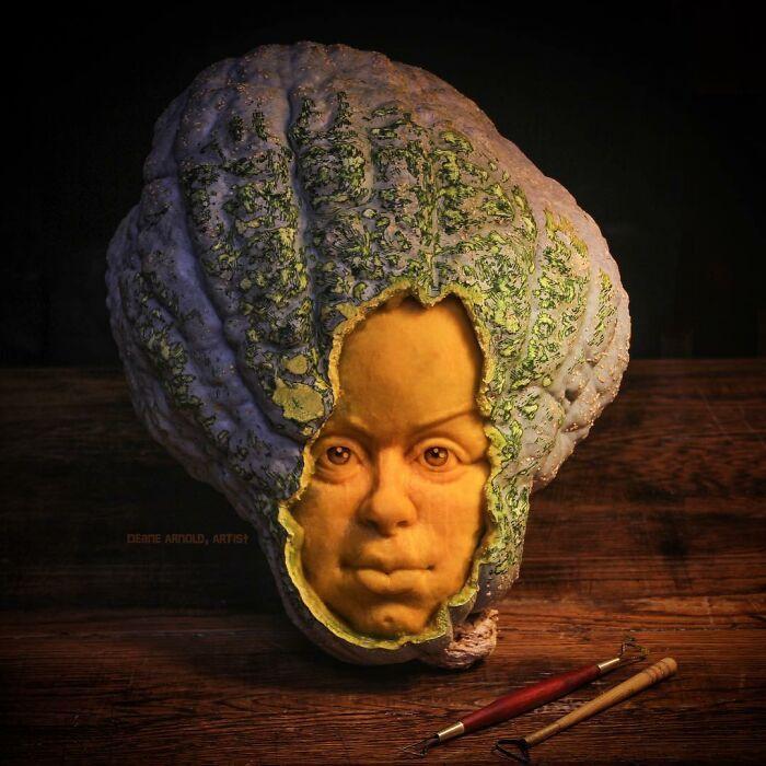 38 esculturas de frutas e vegetais inspiradas na cultura pop, terror, fantasia 17