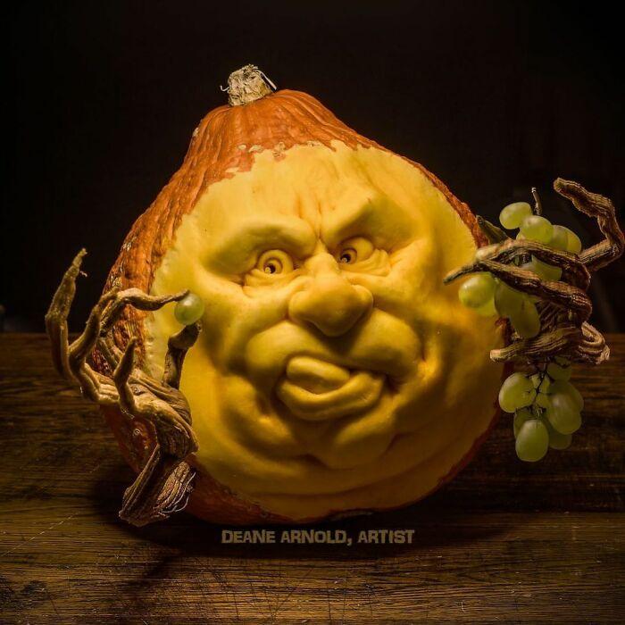38 esculturas de frutas e vegetais inspiradas na cultura pop, terror, fantasia 20