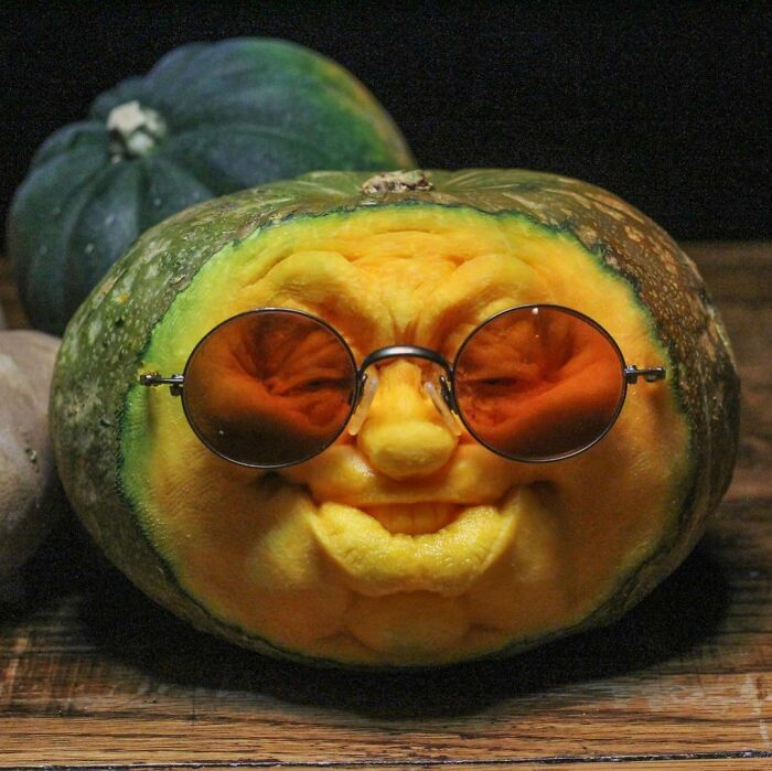 38 esculturas de frutas e vegetais inspiradas na cultura pop, terror, fantasia 25