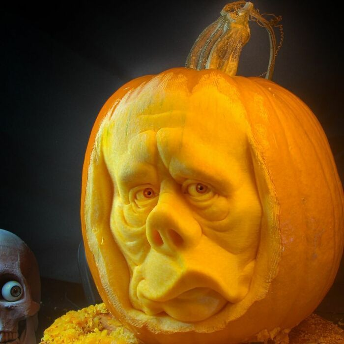 38 esculturas de frutas e vegetais inspiradas na cultura pop, terror, fantasia 30