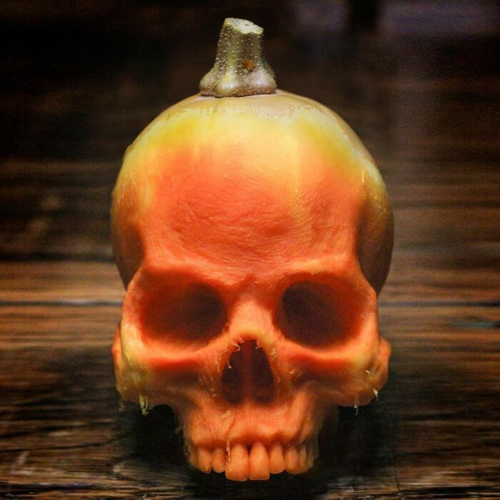 38 esculturas de frutas e vegetais inspiradas na cultura pop, terror, fantasia 35