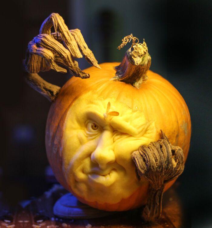 38 esculturas de frutas e vegetais inspiradas na cultura pop, terror, fantasia 37