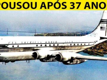 Esse avião pousou após 37 anos desaparecido 1