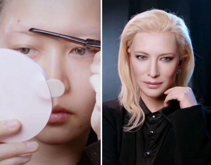 Esta maquiadora pode se transformar em qualquer celebridades, e ela está se tornando viral no TikTok (20 fotos) 2