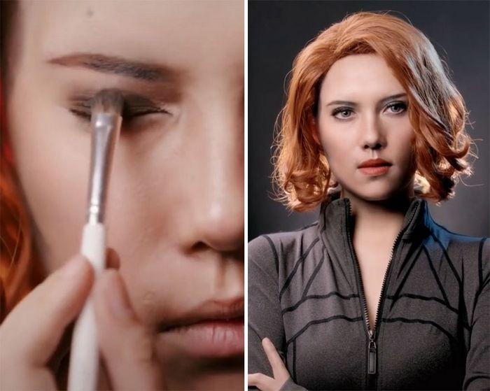 Esta maquiadora pode se transformar em qualquer celebridades, e ela está se tornando viral no TikTok (20 fotos) 3