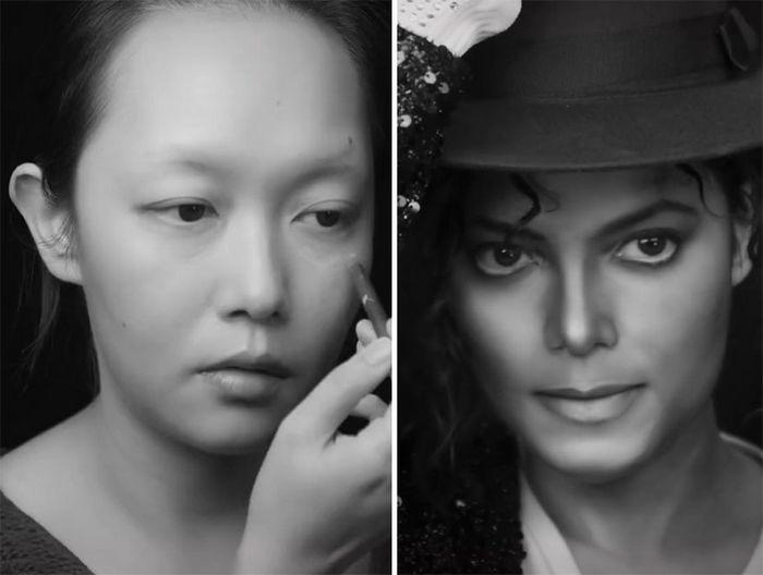 Esta maquiadora pode se transformar em qualquer celebridades, e ela está se tornando viral no TikTok (20 fotos) 5