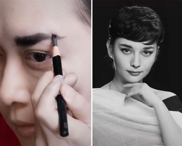 Esta maquiadora pode se transformar em qualquer celebridades, e ela está se tornando viral no TikTok (20 fotos) 6